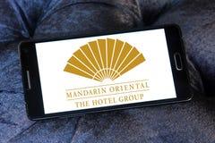 För hotellgrupp för mandarin orientalisk logo Royaltyfri Fotografi