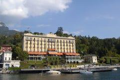 för hotelllake för como storslagen tremezzo royaltyfria foton