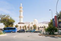 för hussein för alali aqaba fack sharif moské Arkivbilder