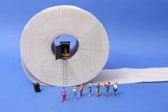för hygienpapper för cleaning home toalett för produkter Arkivbilder