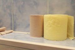 för hygienpapper för cleaning home toalett för produkter Royaltyfri Foto