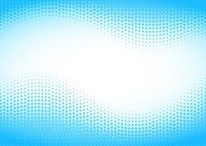 för illustrationlogo för bakgrund blå rastrerad vektor för text för avstånd Royaltyfria Bilder