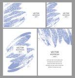 för illustrationstil för affär företags mallar Royaltyfria Bilder