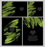 för illustrationstil för affär företags mallar Royaltyfri Foto