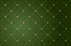 för illustrationvektor för ram grön tappning Arkivbilder