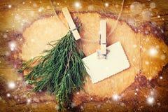 för illustrationvykort för jul eps10 vektor Royaltyfria Foton
