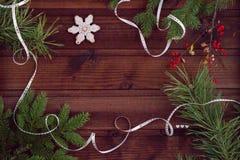 för illustrationvykort för jul eps10 vektor Arkivbilder