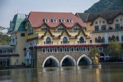 För Interlaken för dal för OKTOBER östlig Shenzhen Meisha teström grupp F hotell Royaltyfri Foto