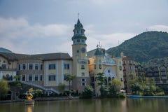 För Interlaken för dal för OKTOBER östlig Shenzhen Meisha teström grupp F hotell Arkivfoton