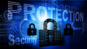 för internetframförande för begrepp 3d säkerhet