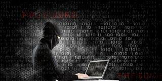 för internetframförande för begrepp 3d säkerhet Arkivbilder