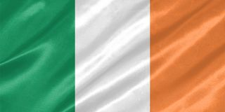 för ireland för tillgänglig flagga glass vektor stil stock illustrationer