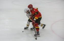 För ISHOCKEYVÄRLD för 2017 IIHF MÄSTERSKAP - Australien vs Belgien royaltyfri foto