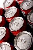 för ispop för cans kallt sodavatten Royaltyfri Fotografi