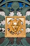 för italy för staket guld- kunglig person turin för slott maskering Royaltyfria Foton