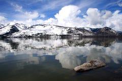 för jackson för 4 tusen dollar teton lake Royaltyfri Bild