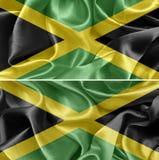 för jamaica för tillgänglig flagga glass vektor stil Royaltyfri Foto