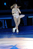 för joannierochette för 2011 utmärkelse guld- skridsko Royaltyfri Bild