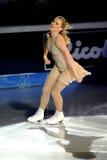 för joannierochette för 2011 utmärkelse guld- skridsko Royaltyfria Bilder