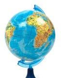 för jordklotillustration för bakgrund eps10 white för vektor Arkivfoton
