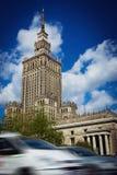 för josef för 50-talkultur folk polerad aktuell vetenskap stalin slott poland till warsaw Royaltyfri Fotografi