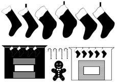 För jul Vektor Illustrationer