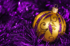 För julgrangarnering för nytt år bakgrund för beståndsdelar arkivfoton