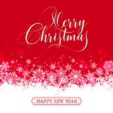 För julhälsning för vektor glatt kort Royaltyfri Foto