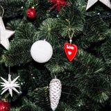 för julillustration för bakgrund härlig vektor för tree Arkivfoto