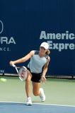 för justine rogers för mästarekopphenin kvinnor tennis royaltyfria foton