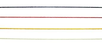 för kabelhandarbete för bakgrund färgrik ull för rad Arkivbilder