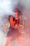 för kacic röst- zorana leadprophaganda för band Royaltyfri Foto