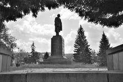 för kaluzhskayalenin för 2009 fragment moscow monument fyrkant Royaltyfri Fotografi