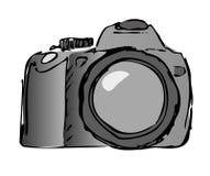 för kamera vektor fortfarande stock illustrationer