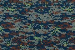 För kamouflagetyg för thailändskt flygvapen digital textur Royaltyfri Bild
