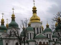 för kiev för domkyrkamittstad sophia ukraine saint Arkivfoto