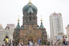 för kiev för domkyrkamittstad sophia ukraine saint Royaltyfri Fotografi