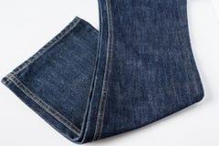 för kläddenims för bakgrund blå textur för jeans Royaltyfria Bilder