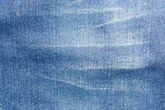 för kläddenims för bakgrund blå textur för jeans Royaltyfri Bild