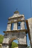 för klostertorn för klocka grekisk by Fotografering för Bildbyråer