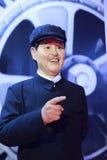 För komediförfattarefarbror zhaos för kines berömt diagram för vax Royaltyfri Bild