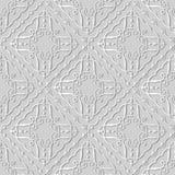 för konstkontroll för vitbok 3D vinranka för ram för kors för virvel för spiral för kurva stock illustrationer