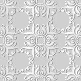 för konstkurva för vitbok 3D vapen för ram för kors för kurva för spiral för fyrkant stock illustrationer
