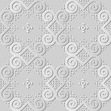 för konstrunda för vitbok 3D ram för triangel för virvel för kurva för spiral royaltyfri illustrationer