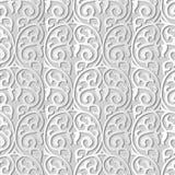 för konstrunda för vitbok 3D vinranka för ram för kors för spiral för kurva vektor illustrationer