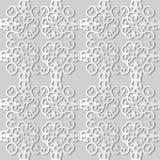 för konstspiral för vitbok 3D ram för fyrkant för kors för kurva för virvel vektor illustrationer