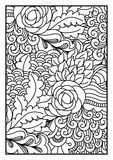 för kortdesign för bakgrund white för affisch för ogange för svart fractal för blomma god Fotografering för Bildbyråer