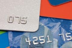 for för kortkrediteringsmakro arkivfoto