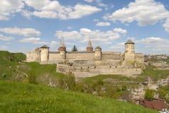 för kullkamyanets för fästning gröna podilsks Royaltyfri Foto