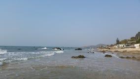 För kust vågor lite Royaltyfria Foton